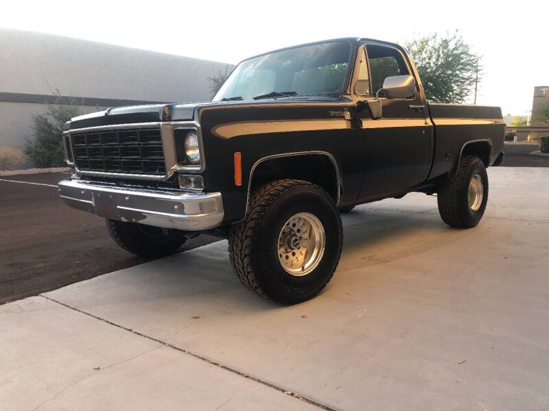 1978 Chevrolet C/K 10 Series for sale at Scottsdale Collector Car Sales in Tempe AZ