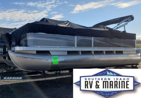 2021 MONTEGO BAY PONTOON F8520 for sale at SOUTHERN IDAHO RV AND MARINE in Jerome ID