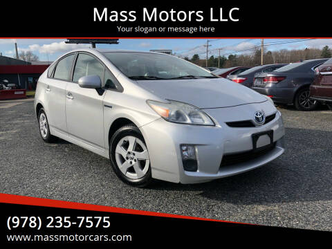 2010 Toyota Prius for sale at Mass Motors LLC in Worcester MA