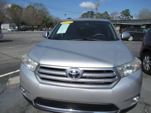 2012 Toyota Highlander for sale at Maluda Auto Sales in Valdosta GA