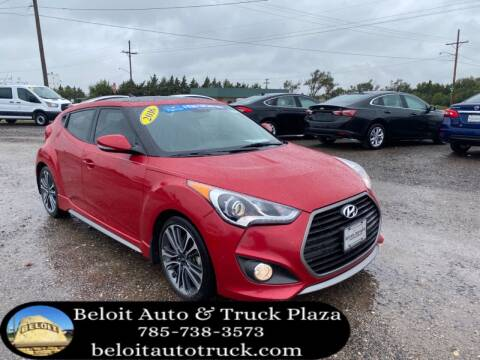 2016 Hyundai Veloster for sale at BELOIT AUTO & TRUCK PLAZA INC in Beloit KS