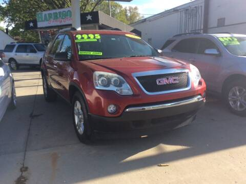 2012 GMC Acadia for sale at Harrison Family Motors in Topeka KS