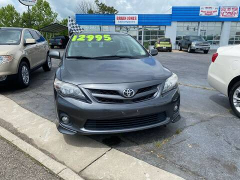 2013 Toyota Corolla for sale at Brian Jones Motorsports Inc in Danville VA