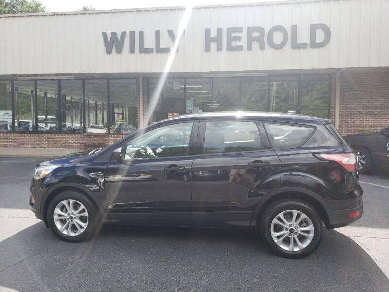 2017 Ford Escape for sale at Willy Herold Automotive in Columbus GA