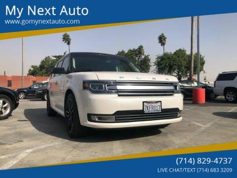 2014 Ford Flex for sale at My Next Auto in Anaheim CA