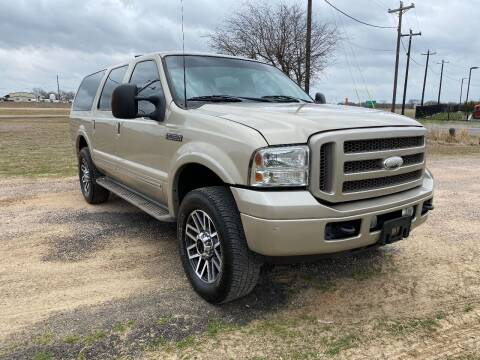 2005 Ford Excursion for sale at CAVENDER MOTORS in Van Alstyne TX