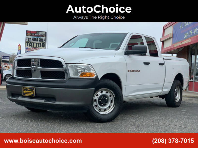2011 RAM Ram Pickup 1500 for sale at AutoChoice in Boise ID