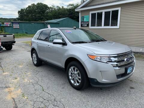 2014 Ford Edge for sale at Home Towne Auto Sales in North Smithfield RI