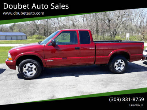 2000 Chevrolet S-10 for sale at Doubet Auto Sales in Eureka IL