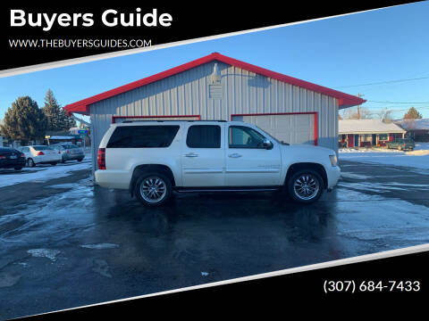 2008 Chevrolet Suburban for sale at Buyers Guide in Buffalo WY