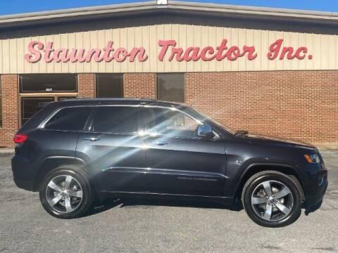 2014 Jeep Grand Cherokee for sale at STAUNTON TRACTOR INC in Staunton VA