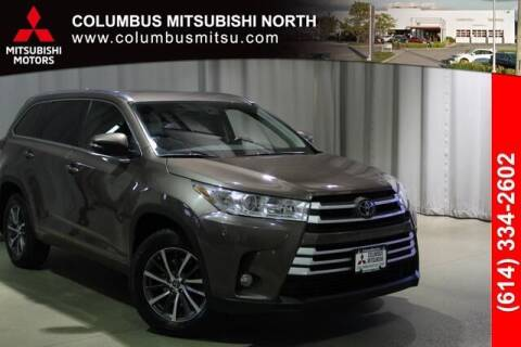 2017 Toyota Highlander for sale at Auto Center of Columbus - Columbus Mitsubishi North in Columbus OH
