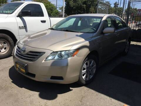 2007 Toyota Camry Hybrid for sale at MK Auto Wholesale in San Jose CA
