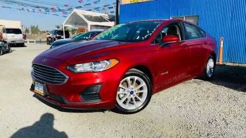 2019 Ford Fusion Hybrid for sale at LA PLAYITA AUTO SALES INC - Tulare Lot in Tulare CA
