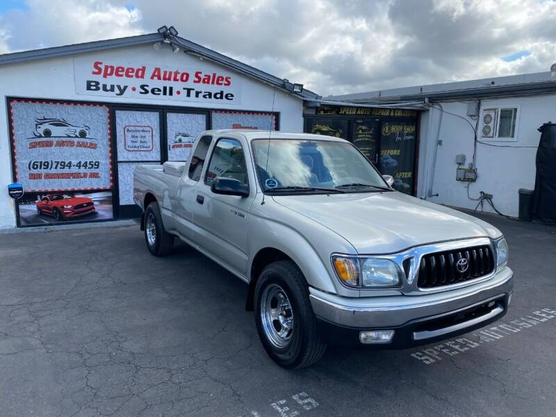 2002 Toyota Tacoma for sale at Speed Auto Sales in El Cajon CA