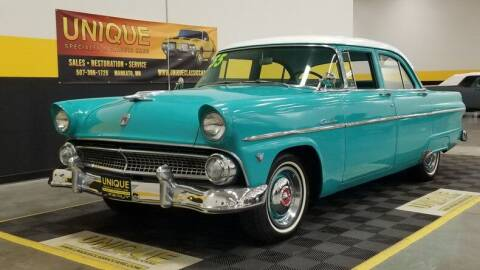 1955 Ford Customline for sale at UNIQUE SPECIALTY & CLASSICS in Mankato MN
