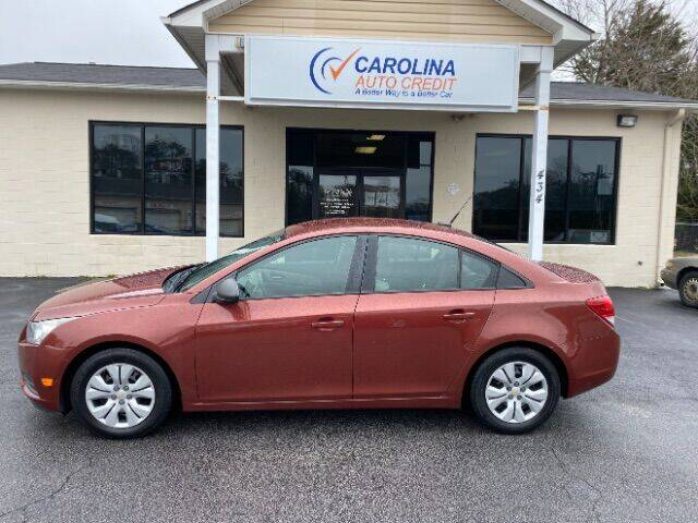 2013 Chevrolet Cruze for sale at Carolina Auto Credit in Youngsville NC