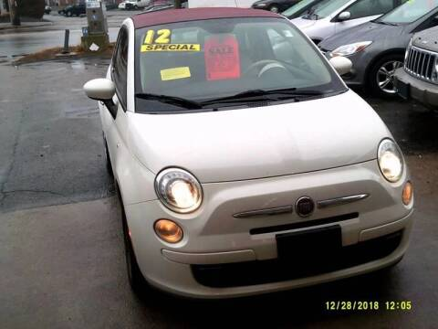 2012 FIAT 500c for sale at Trust Petroleum in Rockland MA