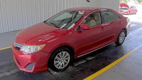 2013 Toyota Camry for sale at HERMANOS SANCHEZ AUTO SALES LLC in Dallas TX