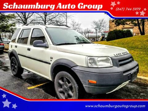 2003 Land Rover Freelander for sale at Schaumburg Auto Group in Schaumburg IL