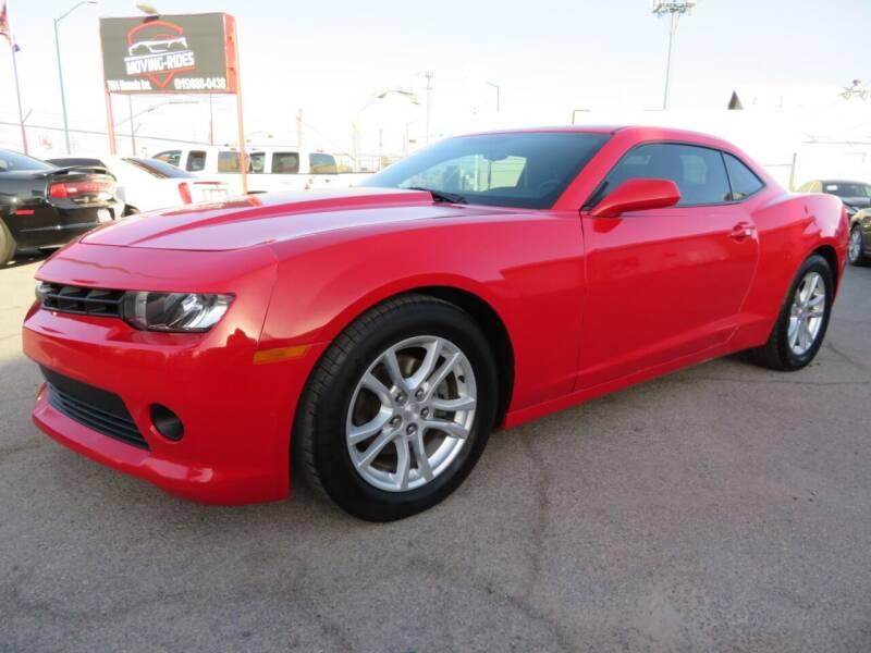 2015 Chevrolet Camaro for sale at Moving Rides in El Paso TX