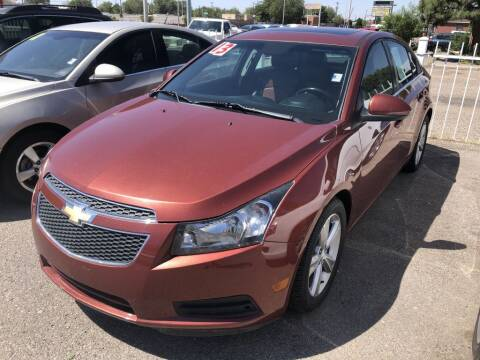 2013 Chevrolet Cruze for sale at Top Gun Auto Sales, LLC in Albuquerque NM