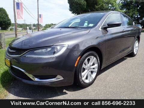 2016 Chrysler 200 for sale at Car Corner INC in Vineland NJ