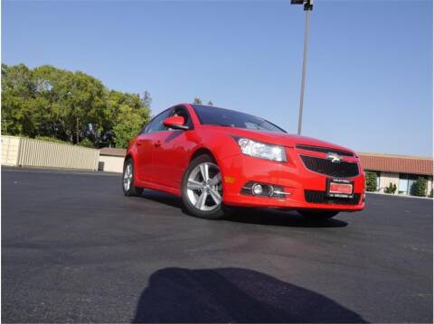 2014 Chevrolet Cruze for sale at BAY AREA CAR SALES in San Jose CA