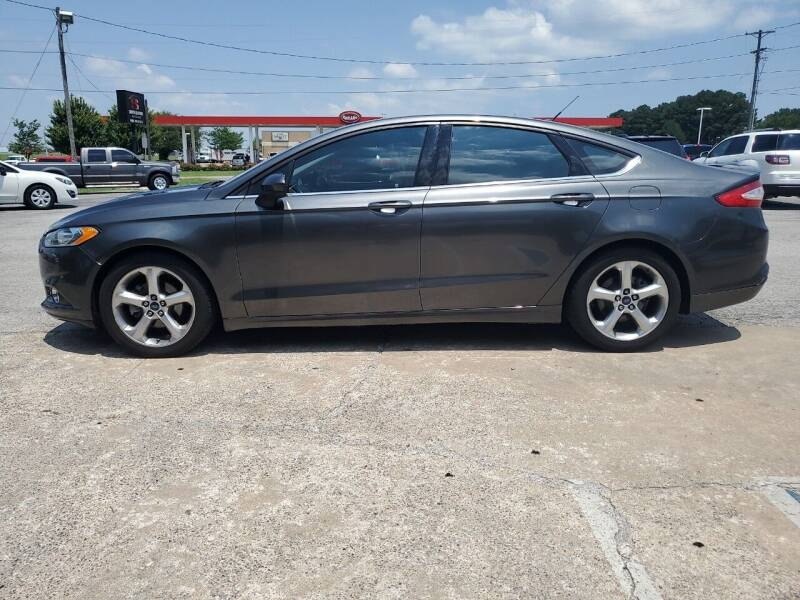 2016 Ford Fusion for sale at Smooth Solutions 2 LLC in Springdale AR