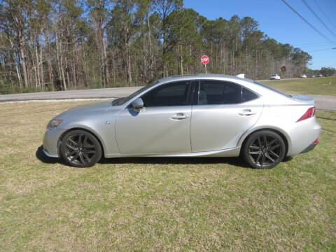 2014 Lexus IS 250 for sale at Ward's Motorsports in Pensacola FL