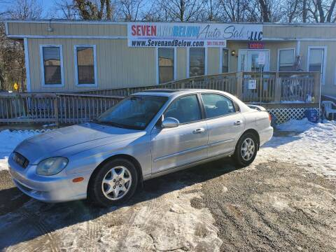 2001 Hyundai Sonata for sale at Seven and Below Auto Sales, LLC in Rockville MD