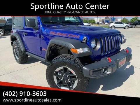 2018 Jeep Wrangler for sale at Sportline Auto Center in Columbus NE