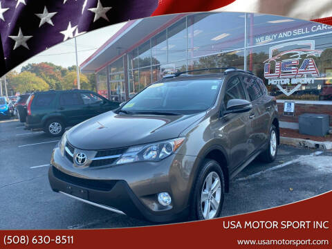 2013 Toyota RAV4 for sale at USA Motor Sport inc in Marlborough MA
