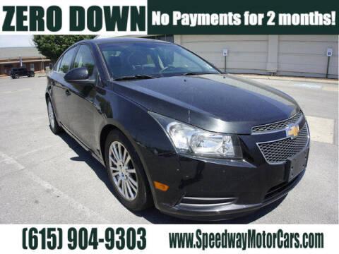 2012 Chevrolet Cruze for sale at Speedway Motors in Murfreesboro TN