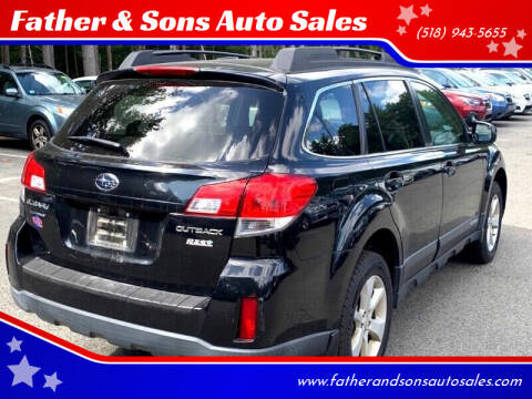 2013 Subaru Outback for sale at Father & Sons Auto Sales in Leeds NY