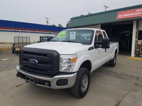 2015 Ford F-250 Super Duty for sale at Bull Mountain Auto, Truck & Trailer Sales in Roundup MT
