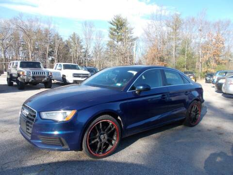 2015 Audi A3 for sale at Manchester Motorsports in Goffstown NH