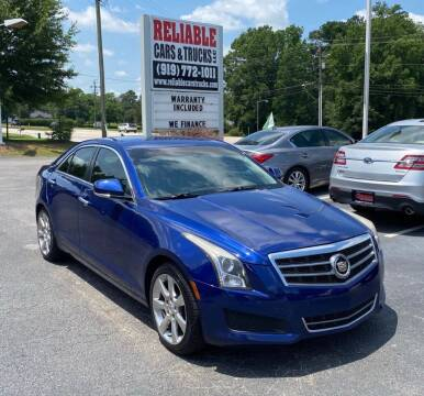2013 Cadillac ATS for sale at Reliable Cars & Trucks LLC in Raleigh NC