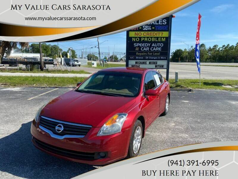 2009 Nissan Altima for sale at My Value Car Sales in Venice FL