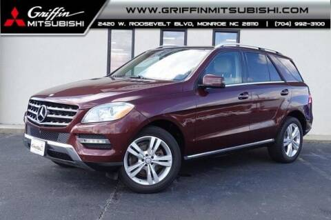 2014 Mercedes-Benz M-Class for sale at Griffin Mitsubishi in Monroe NC