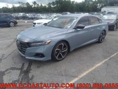 2021 Honda Accord for sale at East Coast Auto Source Inc. in Bedford VA
