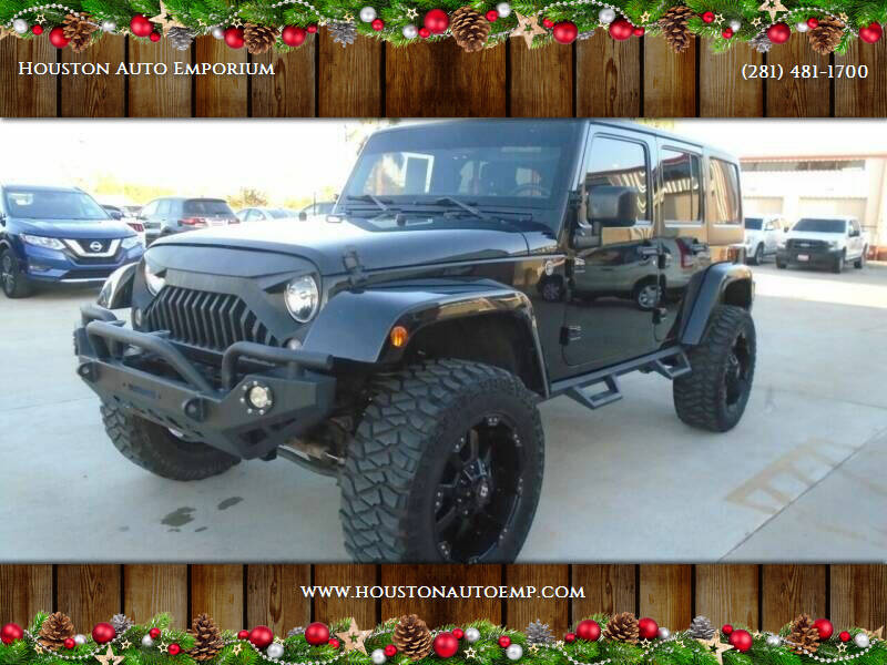 2015 Jeep Wrangler Unlimited for sale at Houston Auto Emporium in Houston TX
