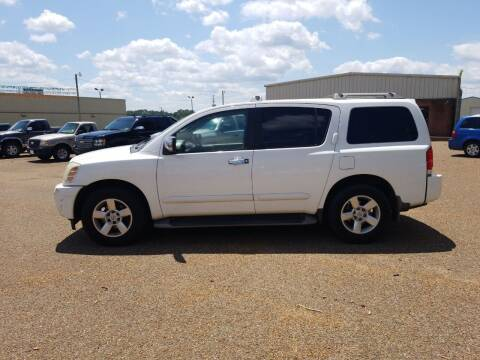 2004 Nissan Armada for sale at Frontline Auto Sales in Martin TN