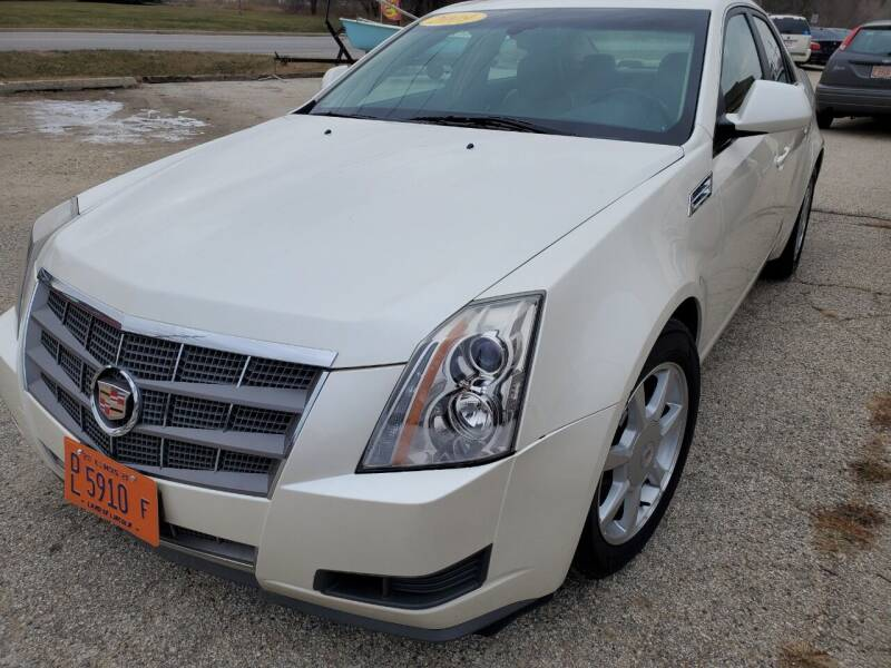 2009 Cadillac CTS for sale at AMAZING AUTO SALES in Marengo IL