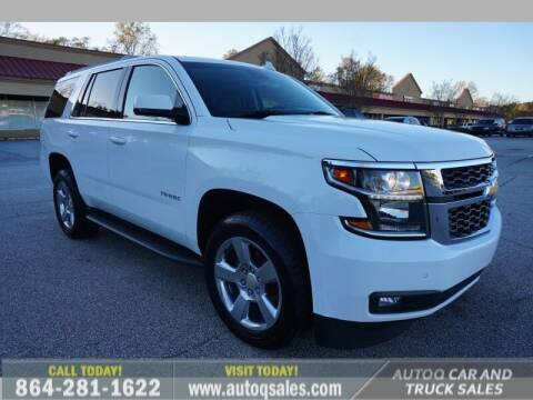 2017 Chevrolet Tahoe for sale at Auto Q Car and Truck Sales in Mauldin SC