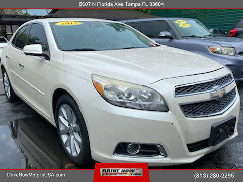 2013 Chevrolet Malibu for sale at Drive Now Motors USA in Tampa FL