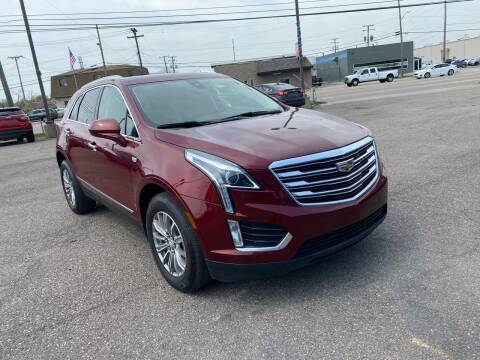 2018 Cadillac XT5 for sale at M-97 Auto Dealer in Roseville MI