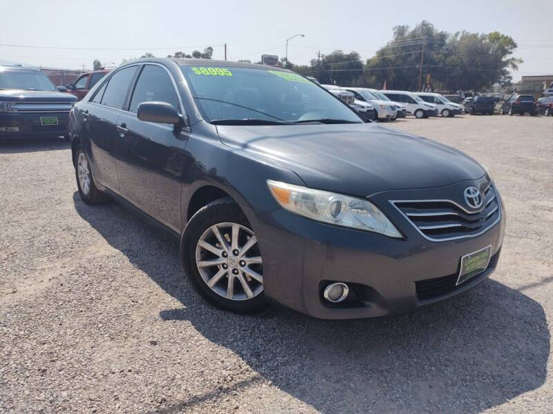 2011 Toyota Camry for sale at Canyon View Auto Sales in Cedar City UT