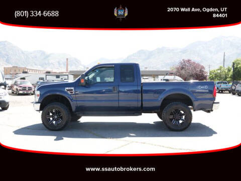 2008 Ford F-250 Super Duty for sale at S S Auto Brokers in Ogden UT
