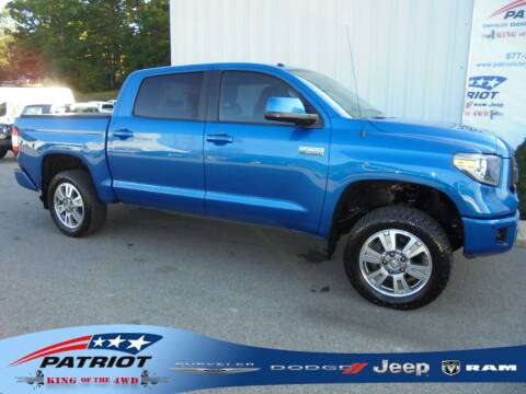 2017 Toyota Tundra for sale at PATRIOT CHRYSLER DODGE JEEP RAM in Oakland MD